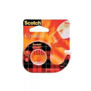 Poza la Banda adeziva Scotch Crystal Clear