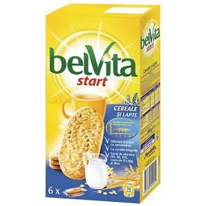Poza Biscuiti Belvita Start Cereale & Lapte