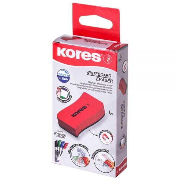 Poza la Burete magnetic Kores pentru tabla