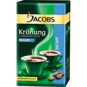 Poza la Cafea macinata decofeinizata Jacobs Kronung