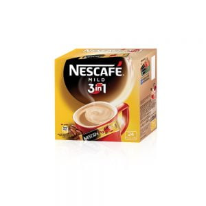 Poza la Cafea solubila 3 in 1 Nescafe Mild