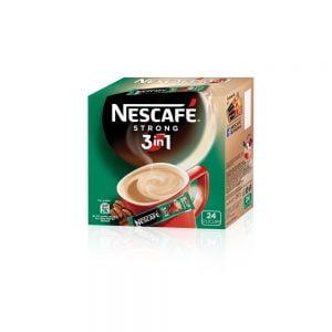 Poza Cafea solubila 3 in 1 Nescafe Strong