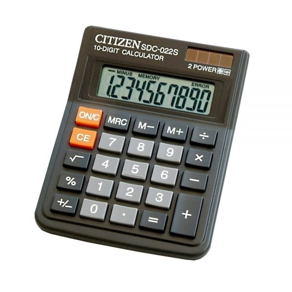 Poza la Calculator Citizen SDC022S