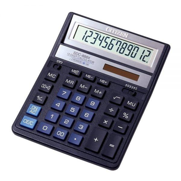 Poza la Calculator Citizen SDC888X