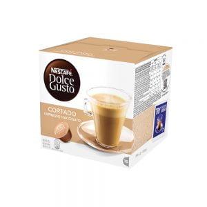 Poza la Capsule Nescafe Dolce Gusto Cortado Espresso Macchiato
