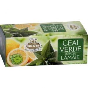 Poza Ceai verde cu lamaie Belin