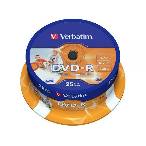 Poza la DVD-R printabil Verbatim