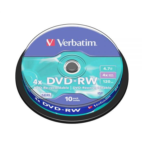Poza la DVD-RW Verbatim
