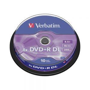 Poza la DVD+R double layer Verbatim