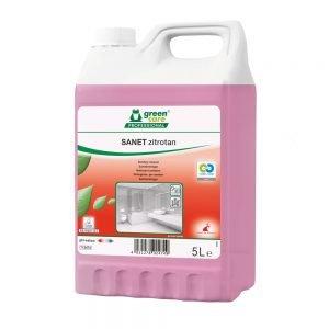 Poza la Detergent ecologic pentru spatii sanitare SANET ZITROTAN