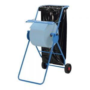 Poza Dispenser industrial mobil Kimberly-Clark cu suport sac gunoi