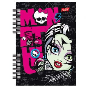 Poza la Jurnal A6  cu spira Monster High