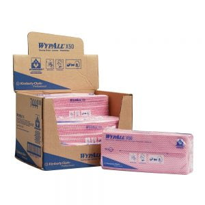 Poza Lavete Kimberly-Clark Wypall X50 rosii