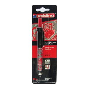 Poza la Marker permanent Edding e-art retractabil varf 1-2mm