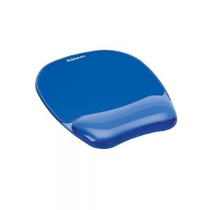 Poza Mouse pad ergonomic cu gel Fellowes Crystal