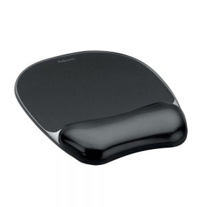 Poza la Mouse pad ergonomic cu gel Fellowes Crystal