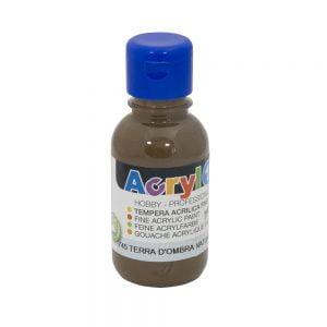 Poza Tempera acrilica Primo 125 ml brun