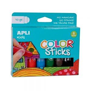 Poza la Tempera solida colorata Apli