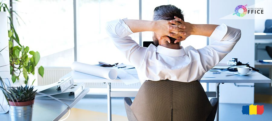 Imagine cu accesorii ergonomice pentru birou.