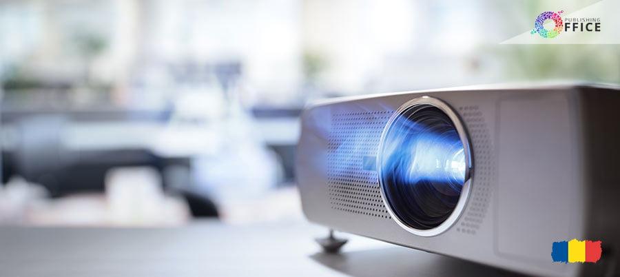 Imagine cu videoproiectoare.