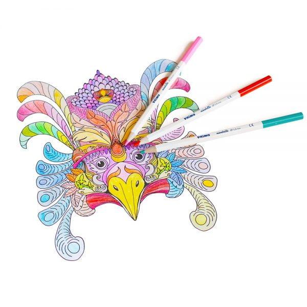 Poza la Creioane colorate Morocolor Primo Minabella
