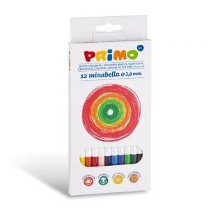 Poza la Creioane coloreate  Minabella 12 culori/set