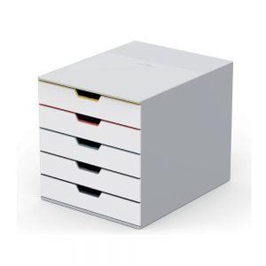 Poza la Organizator cu 5 sertare Durable Varicolor MIX 280x292x356mm