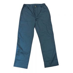 Poza la Pantaloni talie tercot albastru