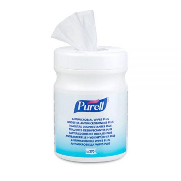 Poza la Servetele umede antimicrobiene Purell Plus
