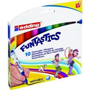 Poza la Set markere copii Edding Funtastics E-14