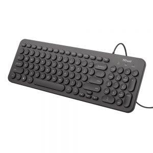 Poza la Tastatura silentioasa Trust Muto