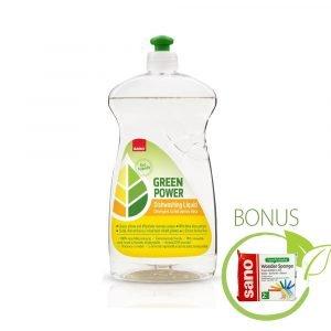 Poza la Detergent vase eco-friendly Sano Green Power